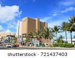 cityscape of guam   guam usa  ... | Shutterstock . vector #721437403