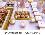 elegant and luxurious event... | Shutterstock . vector #721493443