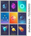 precious stones colourful...   Shutterstock . vector #721505053