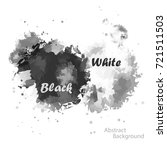 abstract two tone black and... | Shutterstock .eps vector #721511503