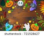 beautiful festive background... | Shutterstock . vector #721528627