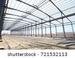the steel structure | Shutterstock . vector #721532113