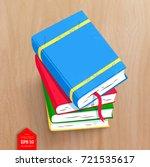 top view vector illustration of ... | Shutterstock .eps vector #721535617