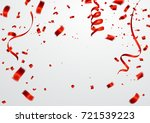 celebration background template ... | Shutterstock .eps vector #721539223