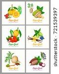 healthy detox natural product... | Shutterstock .eps vector #721539397