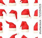 hand drawn seamless pattern... | Shutterstock .eps vector #721554523