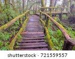 tropical rain forest in doi... | Shutterstock . vector #721559557