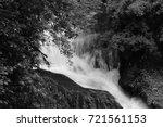 rouken glen park   giffnock  ... | Shutterstock . vector #721561153