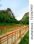 mountain walkway at khao ngu... | Shutterstock . vector #721567957