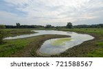 waterways in a local park at... | Shutterstock . vector #721588567
