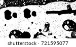 grunge black and white vector.... | Shutterstock .eps vector #721595077