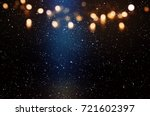 Abstract Starry Sky Background...