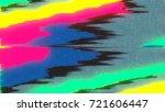 unique design abstract digital... | Shutterstock . vector #721606447