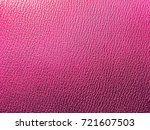pink background. leatherette... | Shutterstock . vector #721607503