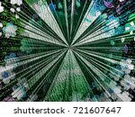 colorful background. flower and ... | Shutterstock . vector #721607647