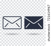 email icon. outline email icon...
