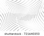 abstract halftone wave dotted... | Shutterstock .eps vector #721640353