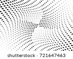 abstract halftone wave dotted... | Shutterstock .eps vector #721647463