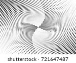 abstract halftone wave dotted... | Shutterstock .eps vector #721647487