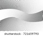 abstract halftone wave dotted... | Shutterstock .eps vector #721659793
