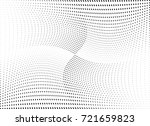 abstract halftone wave dotted... | Shutterstock .eps vector #721659823