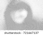abstract halftone wave dotted... | Shutterstock .eps vector #721667137