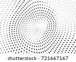 abstract halftone wave dotted... | Shutterstock .eps vector #721667167