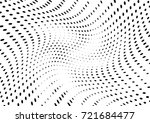 abstract halftone wave dotted... | Shutterstock .eps vector #721684477
