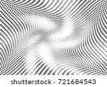 abstract halftone wave dotted... | Shutterstock .eps vector #721684543