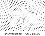 abstract halftone wave dotted... | Shutterstock .eps vector #721715107