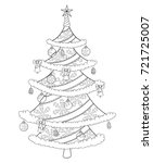 Christmas Tree Coloring Book...