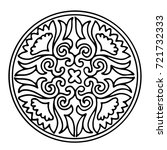 mandala template for creativity ...   Shutterstock .eps vector #721732333