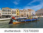 aveiro  portugal   july 25 ... | Shutterstock . vector #721733203