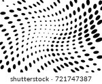 abstract halftone wave dotted... | Shutterstock .eps vector #721747387