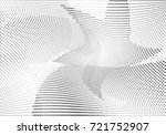 abstract halftone wave dotted... | Shutterstock .eps vector #721752907