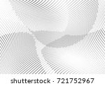 abstract halftone wave dotted... | Shutterstock .eps vector #721752967