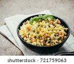 close up view of cauliflower... | Shutterstock . vector #721759063