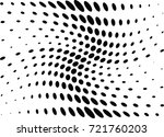 abstract halftone wave dotted... | Shutterstock .eps vector #721760203