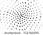 abstract halftone wave dotted... | Shutterstock .eps vector #721760293