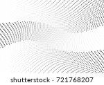 abstract halftone wave dotted... | Shutterstock .eps vector #721768207