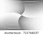 abstract halftone wave dotted... | Shutterstock .eps vector #721768237