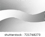 abstract halftone wave dotted... | Shutterstock .eps vector #721768273