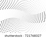 abstract halftone wave dotted... | Shutterstock .eps vector #721768327