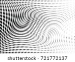 abstract halftone wave dotted... | Shutterstock .eps vector #721772137