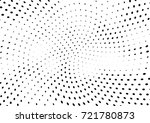 abstract halftone wave dotted... | Shutterstock .eps vector #721780873