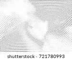abstract halftone wave dotted... | Shutterstock .eps vector #721780993