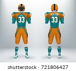 3d realistic of font and back...   Shutterstock .eps vector #721806427