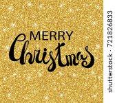 Merry Christmas Vector Text...