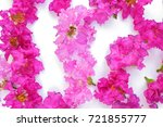 Pink Petal Of Lagerstroemia...