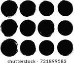 grunge post stamps collection ... | Shutterstock .eps vector #721899583